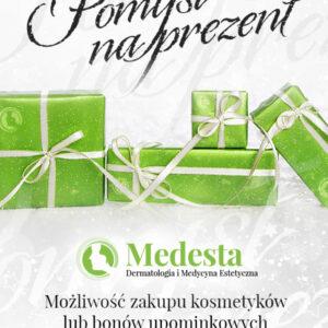 prezent na święta Medesta